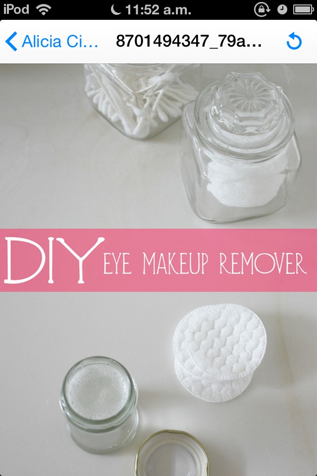 Cheap Natural Makeup Remover