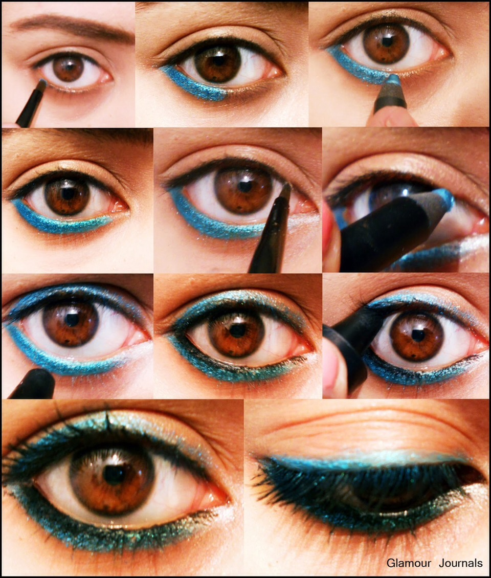how to make your eyes smaller naturally