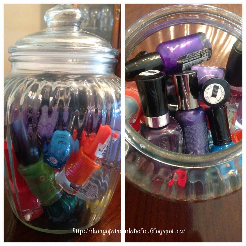 Cute Ways To Display And Store Nail Polish