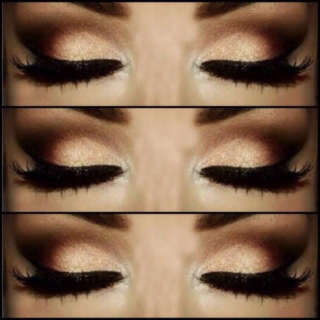 Makeup tutorial for dark brown eyes