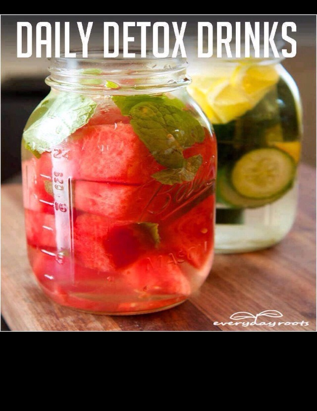 Make Your Own Detox Drink!! Cool And Refreshing!! - Musely