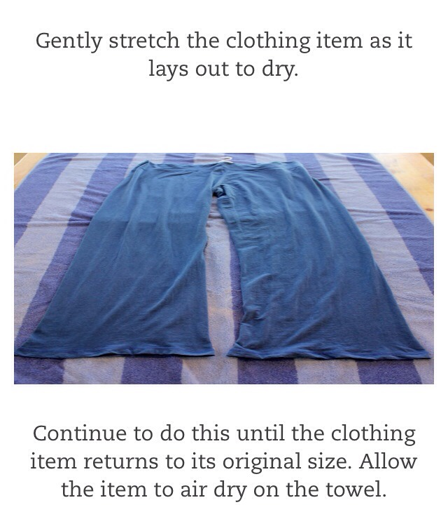 How to unshrink ur clothes musely - How to unshrink clothes three easy solutions ...