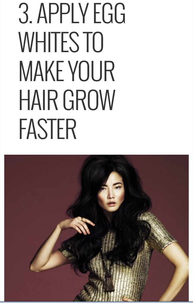 What Are Natural Ways To Make Hair Grow Faster