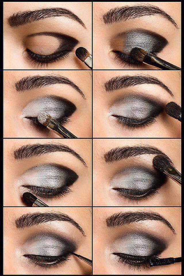How to makeup eyes