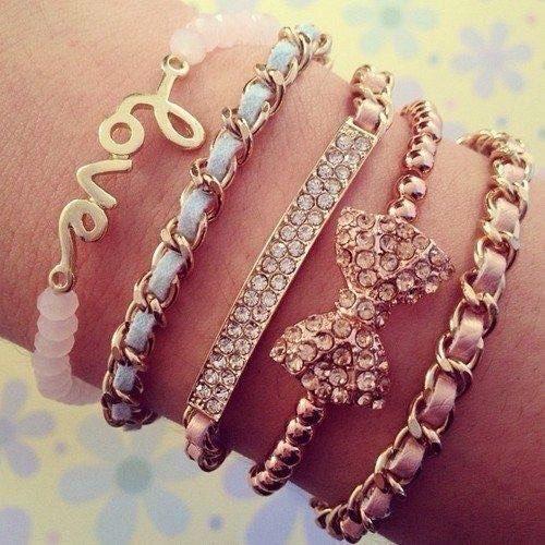 Красивые браслеты своими руками для девушки