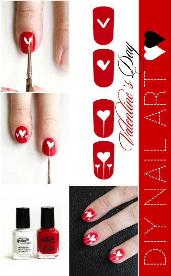 Как рисовать лаком на коротких ногтях