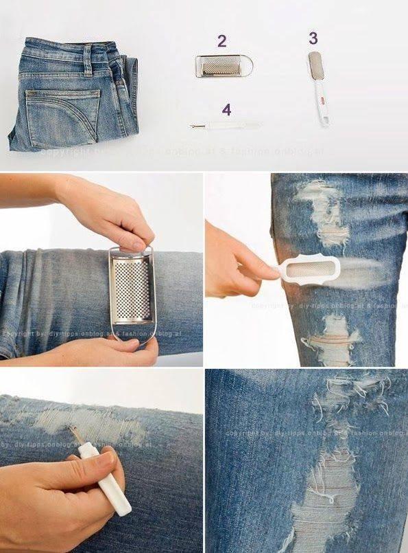 Как сделать джинсы фото 530