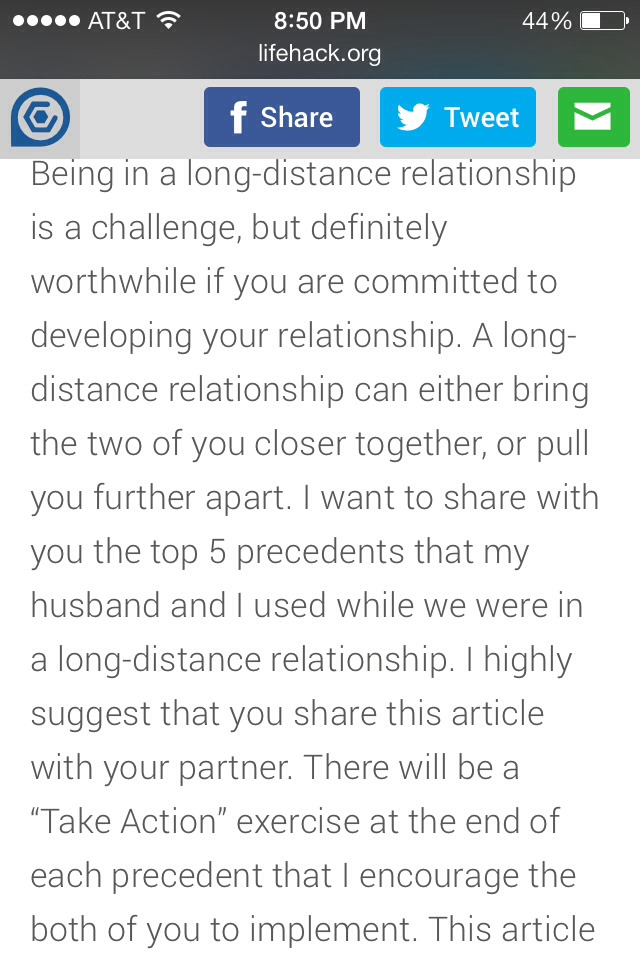 How to survive in long distance relationship