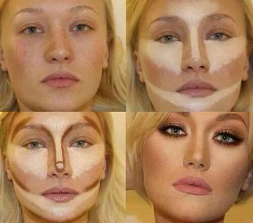 Наносим макияж