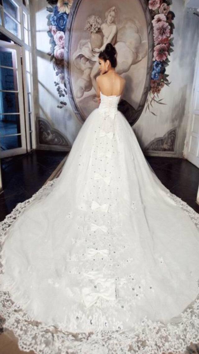 Самые красивые свадебные платья с кружевом