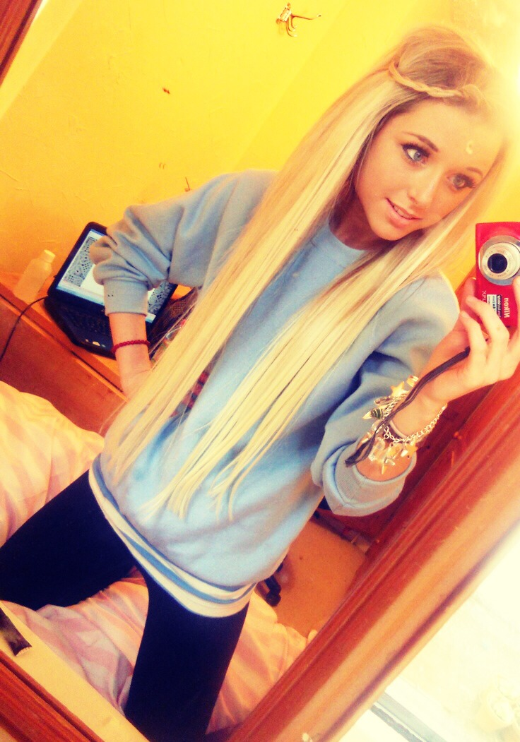 Красивое девушки блондинки на аву