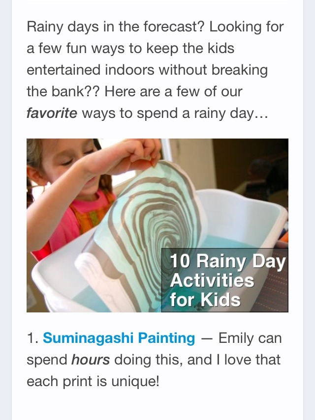 10 activities on a rainy day   musely
