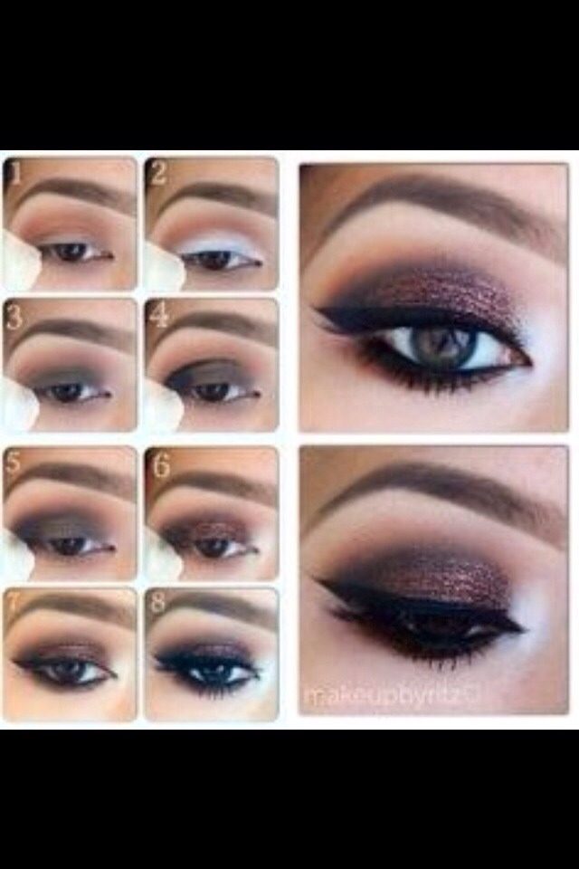 great eyeshadow tutorial pictures step by step musely