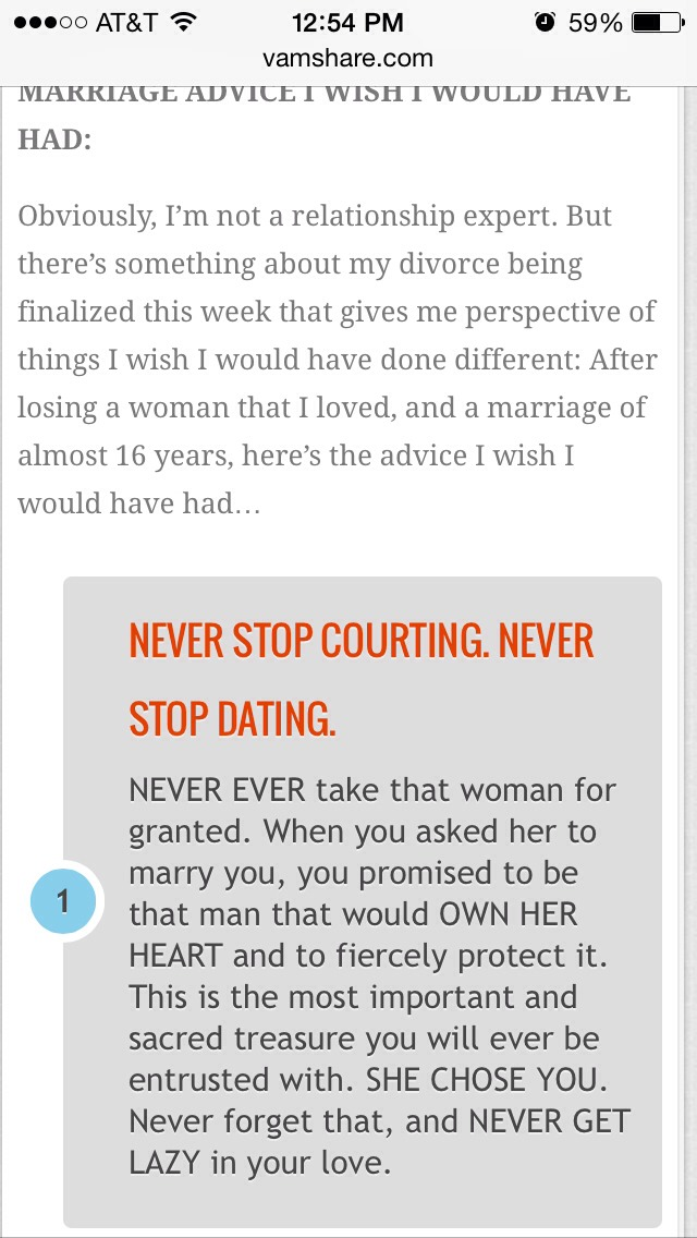 20 relationship tips from a divorced mans marriage