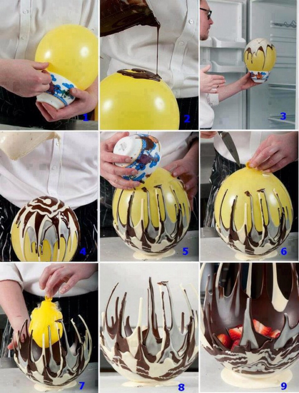 Как вкатить шары в домашних условиях фото пошагово