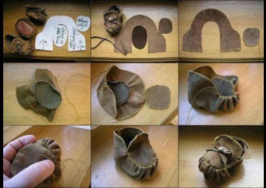 Как сшить обувь своими руками мастер класс