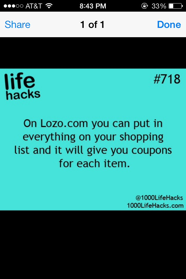 Make a grocery list and get coupons