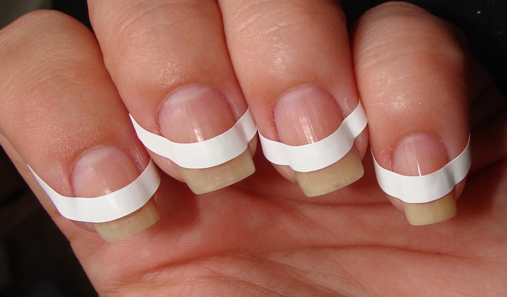 Френч на ногтях в домашних условиях для начинающих