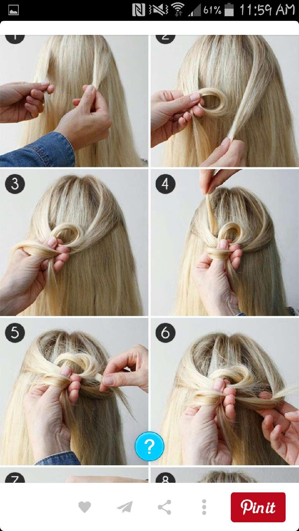 Как сделать прическу распущенные волосы
