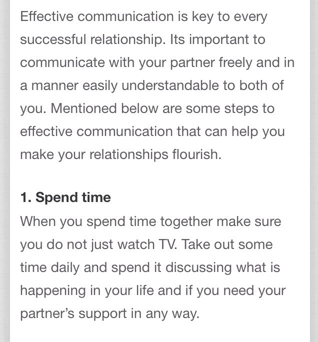 dating and effective communication 17 rules for effective communication in a relationship i began to understand the real components of effective communication but the 4th date.