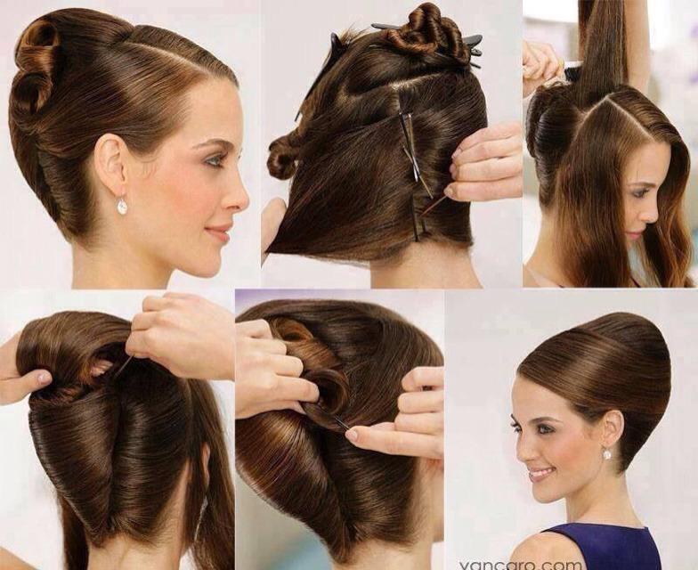 Классические прически на длинные волосы пошагово
