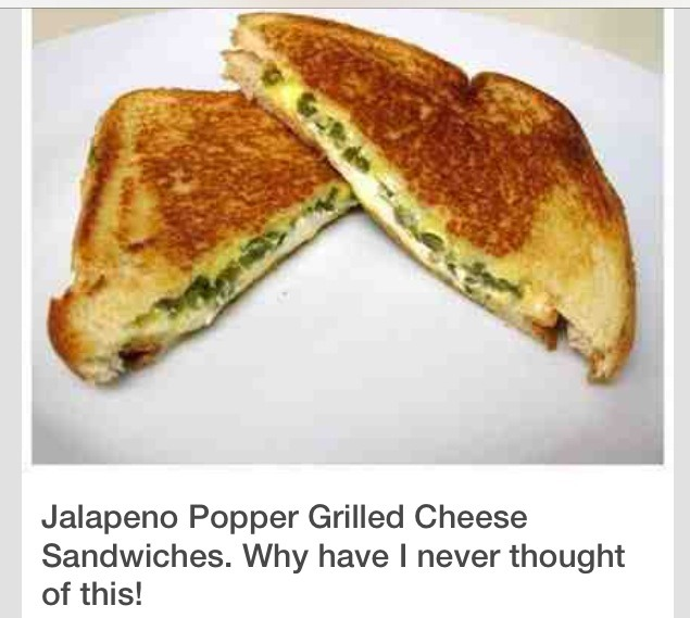 Jalapeño-Popper Grilled Cheese
