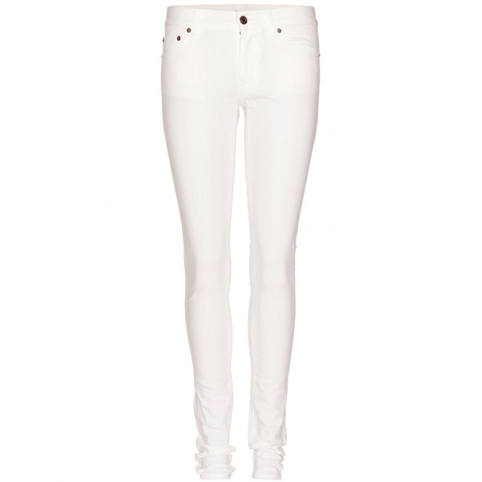 cute white jeans - Jean Yu Beauty