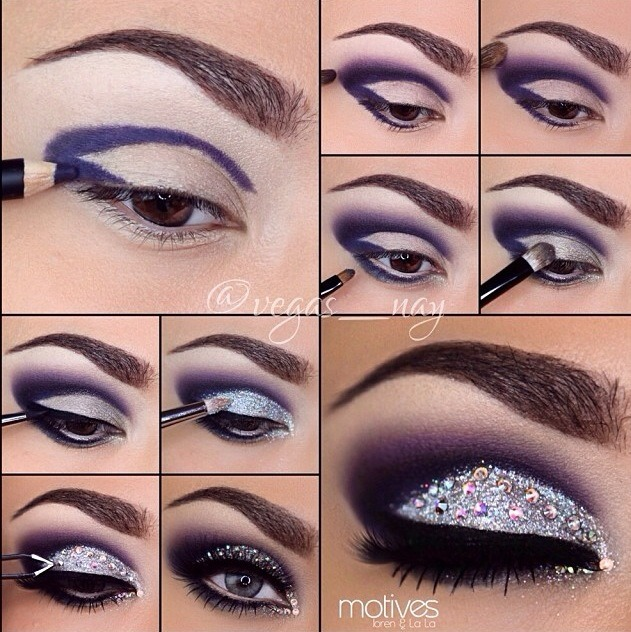 Beautiful Eye Makeup In Steps Musely