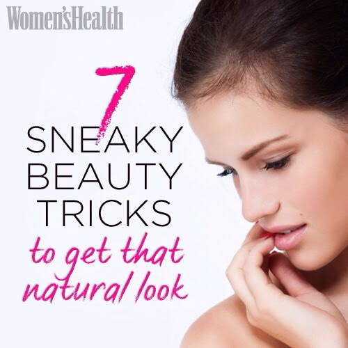 7 Beauty Tricks To Get A Natural Look
