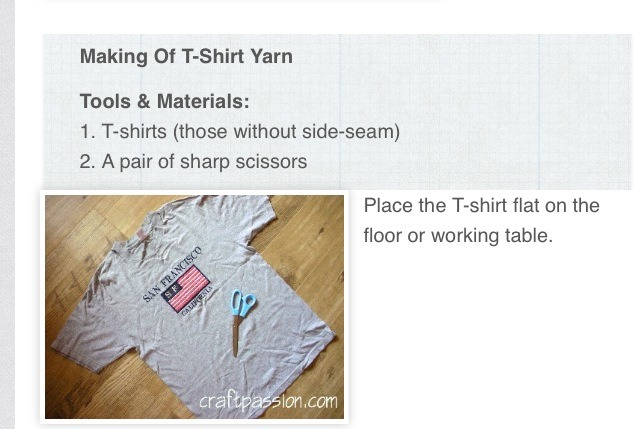"Recycle Tutorial- "" Making Of T-shirt Yarn"" - Musely"
