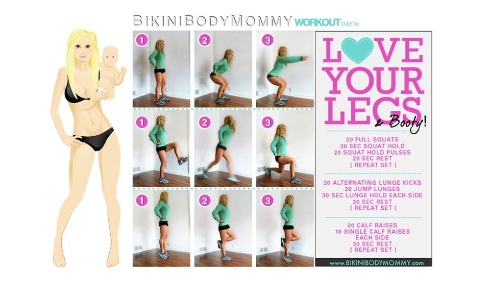 how to get bikini body ready fast