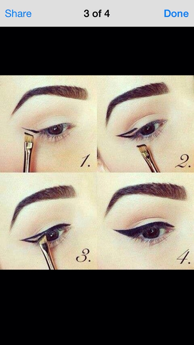 how to properly put on makeup