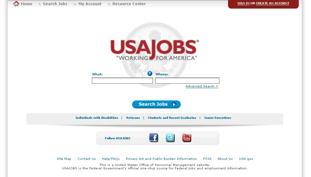 USAJOBS  The Federal Governments Official Jobs Site