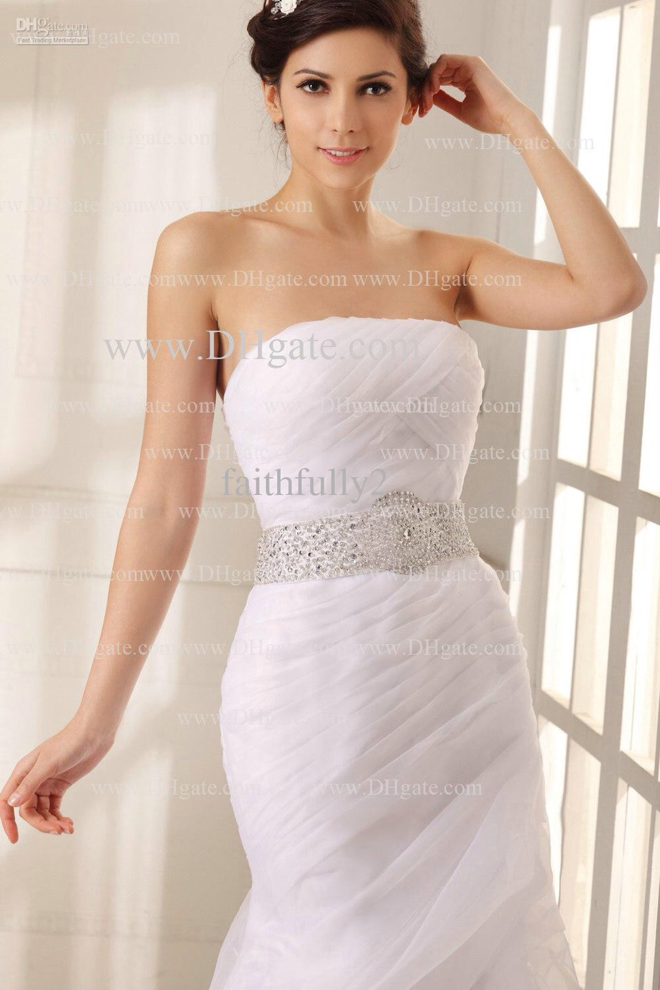 Strapless Wedding Gowns Musely