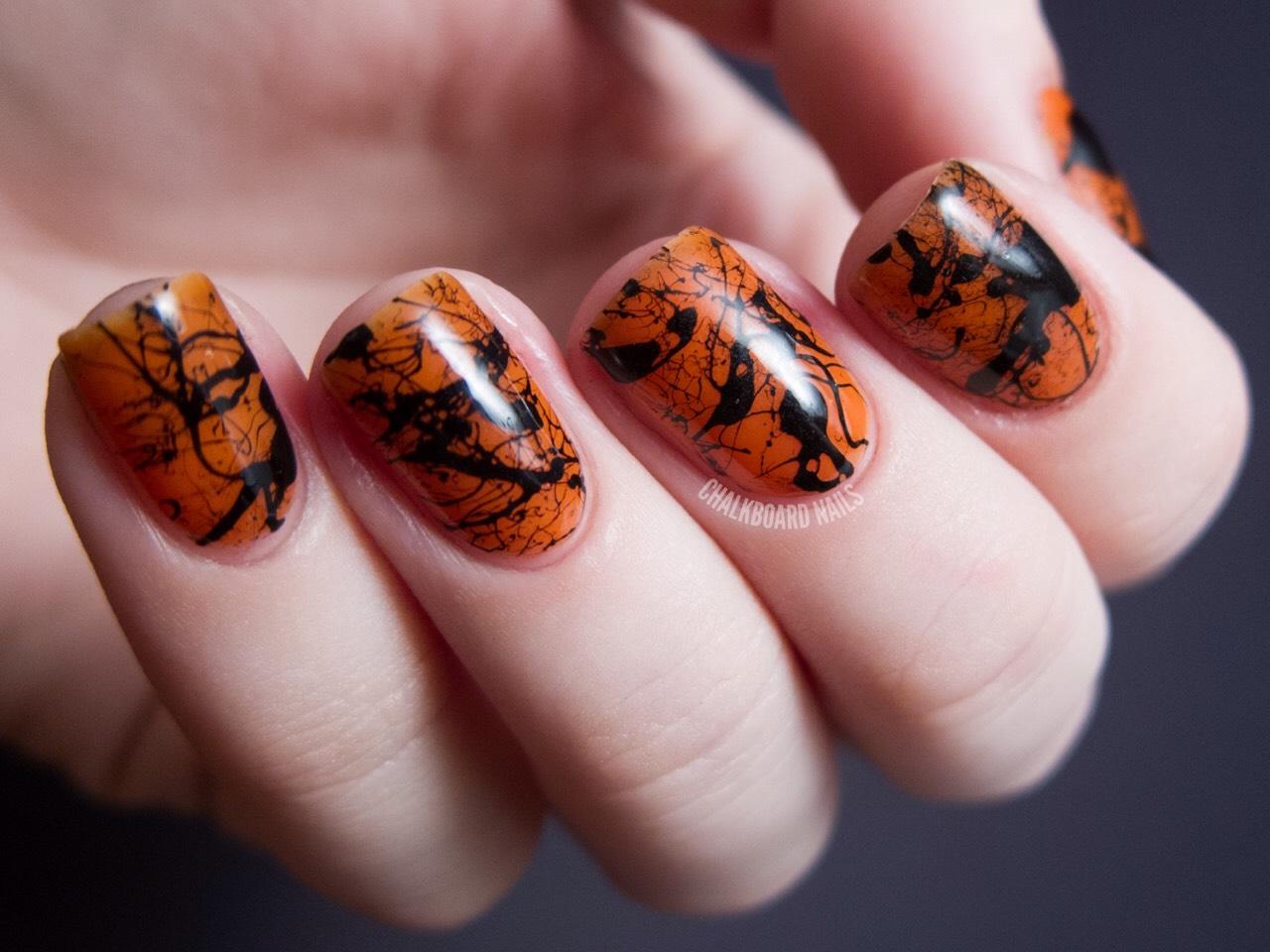 Улитка на ногтях фото