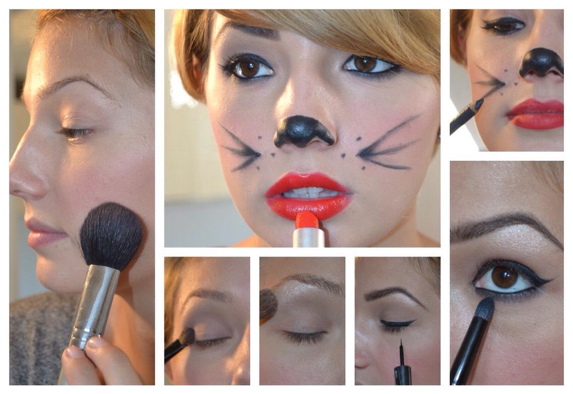 Сделать домашний макияж