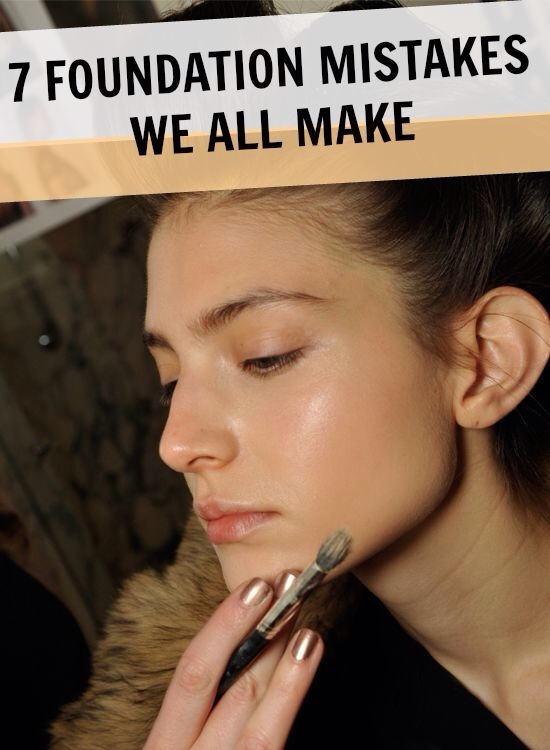 7 foundation mistakes we all make and shouldn t musely - Seven mistakes we make when using towels ...