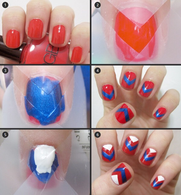 Как накрасить ногти легко в домашних условиях