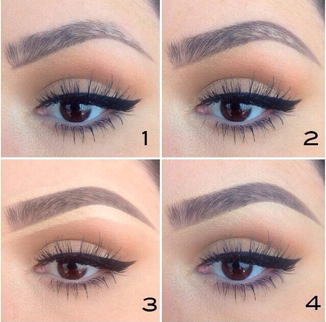 What do you color eyebrows with – World novelties makeup photo