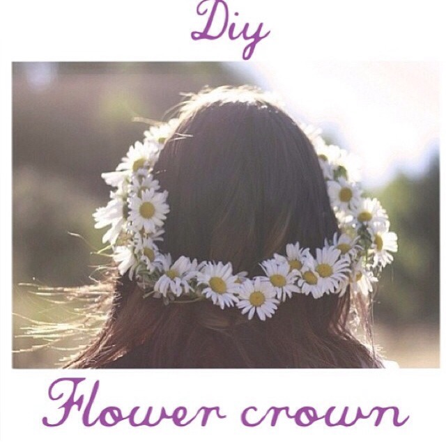 how to make a flower crown naturally