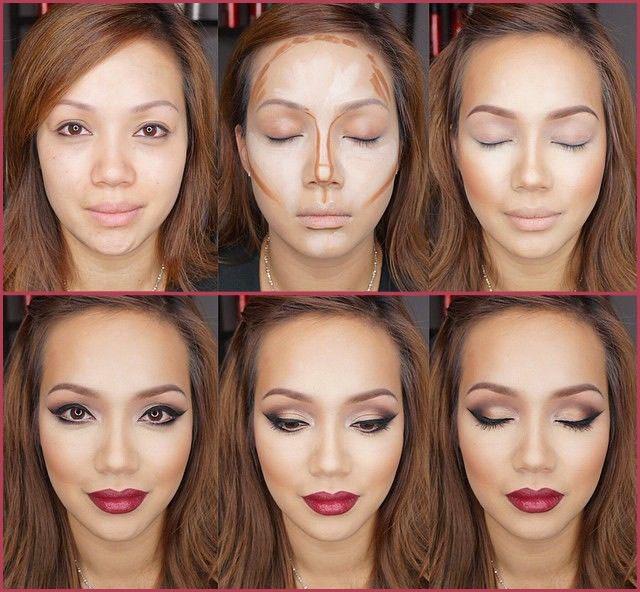 Как правильно сначала макияж