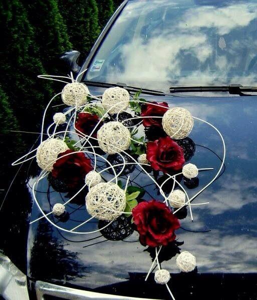 wedding car decorations musely. Black Bedroom Furniture Sets. Home Design Ideas