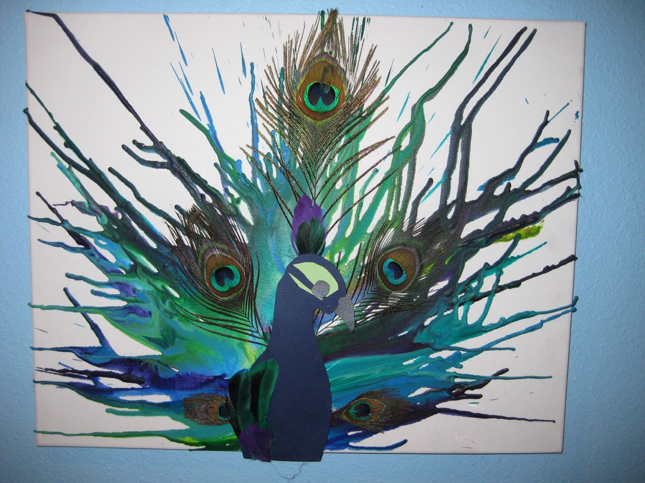 Melting Crayon Art Ideas (&How-to) - Musely
