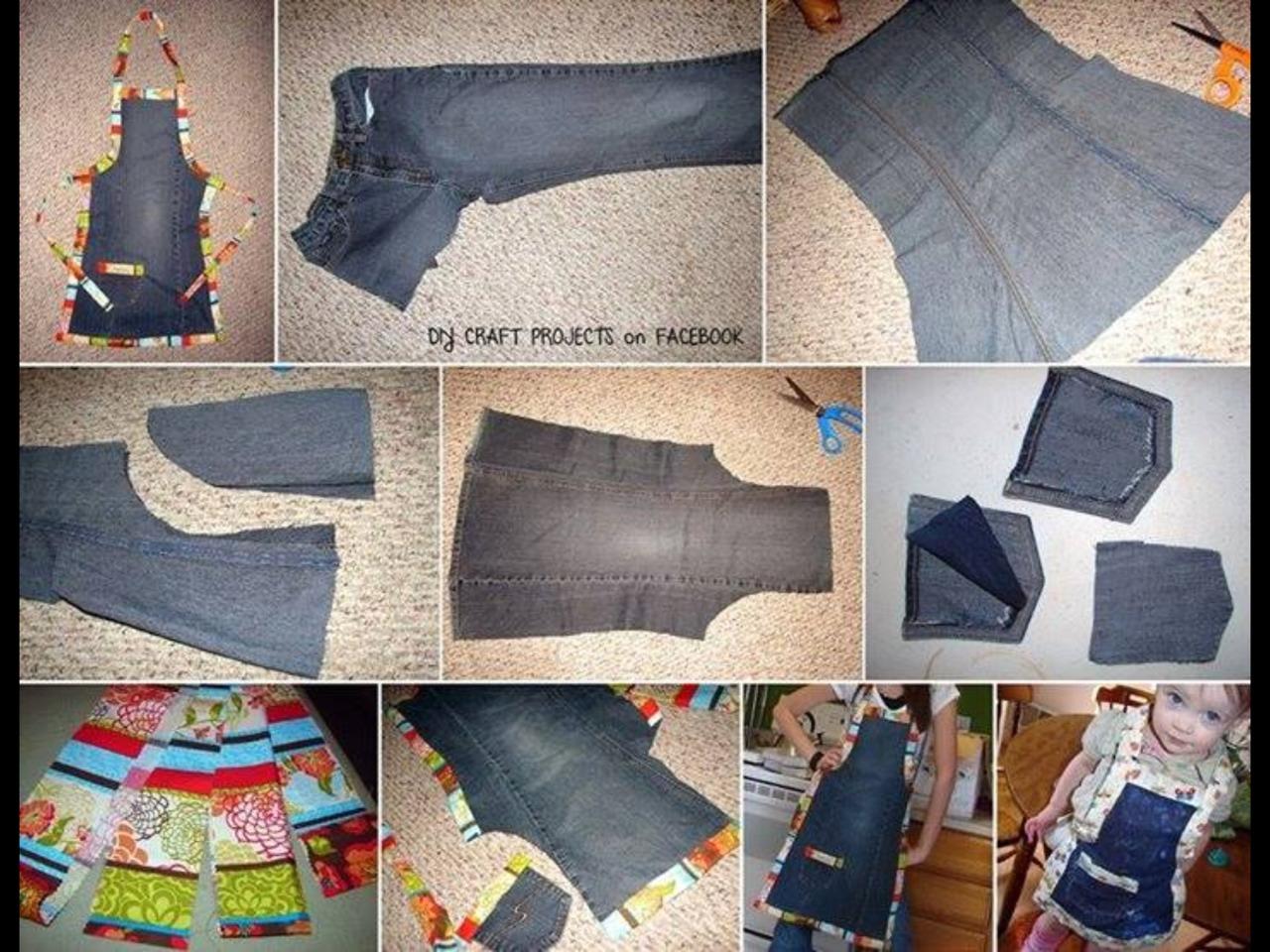Вещи сшитые из старых джинсов своими руками