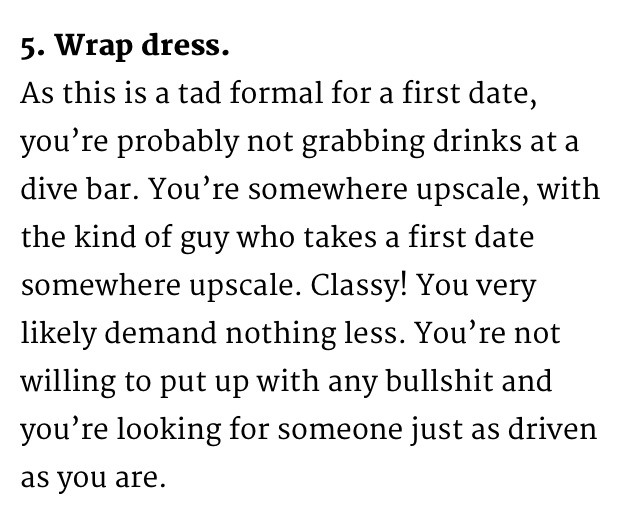 What to say on a first date