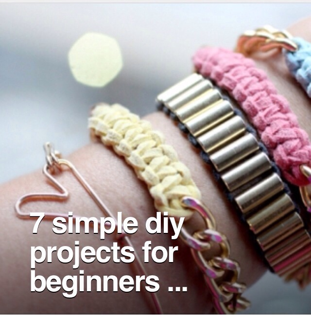 7 simple diy projects for beginners musely for Diy crafts for beginners