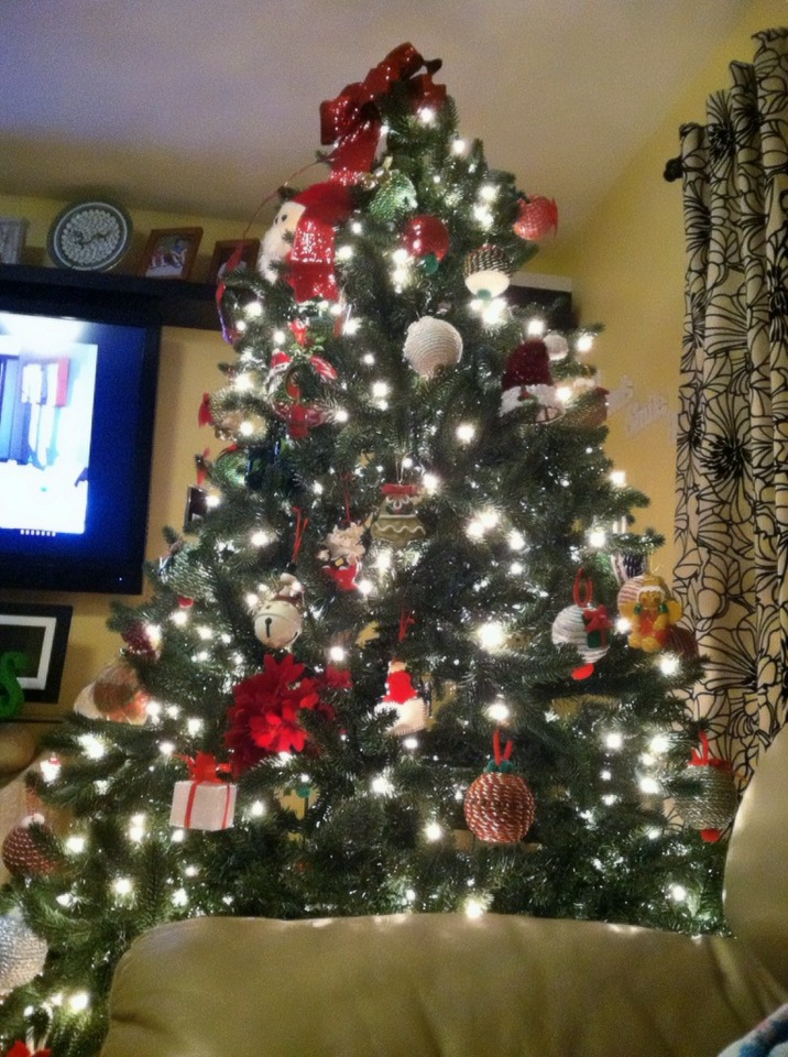 Christmas tree is almost done did u did your tree for How did the christmas tree come about