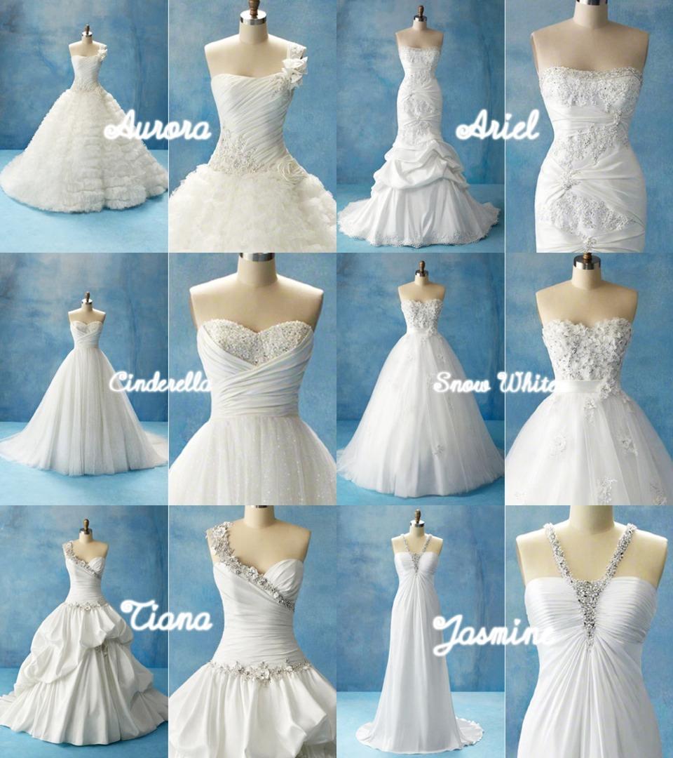 Disney wedding dresses musely for Walt disney wedding dress