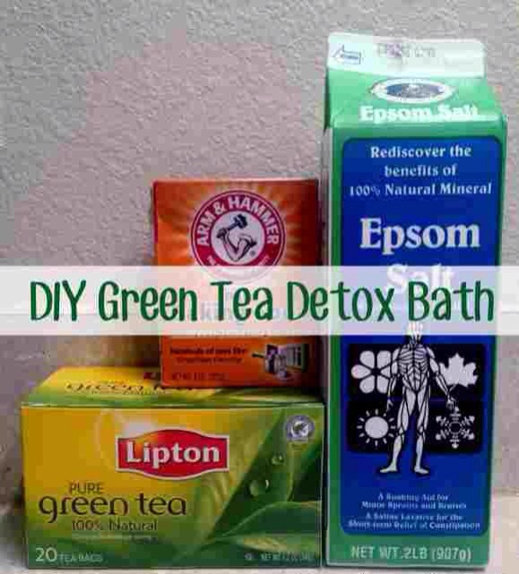 how does green tea detox your body