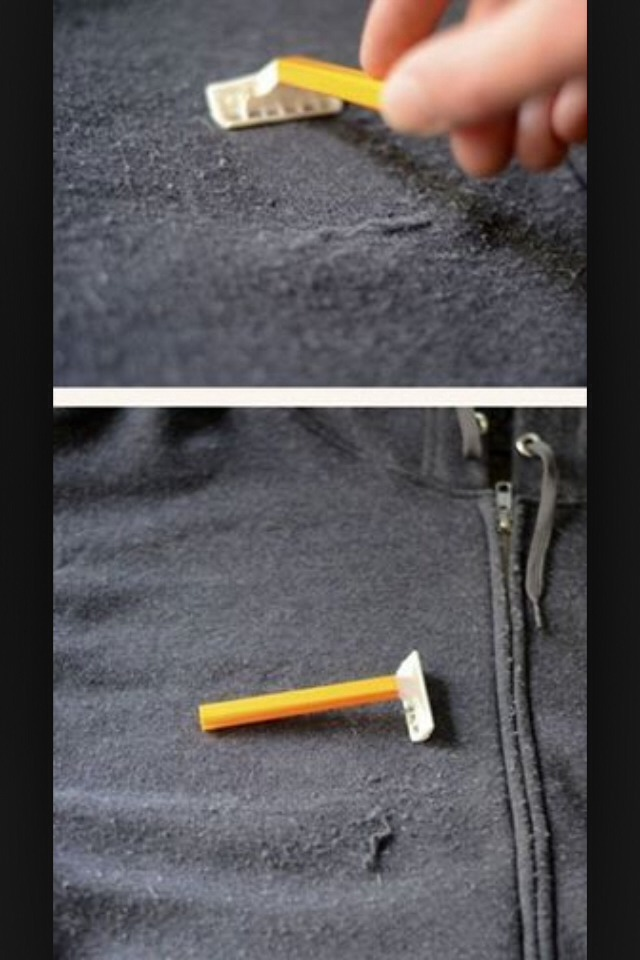 how to get lint off
